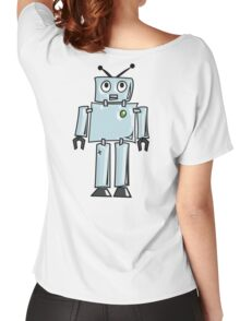 ROBOT, Line drawing, 1950s Women's Relaxed Fit T-Shirt