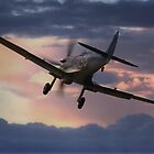 Spitfire Sunset by Nigel Bangert