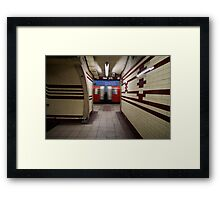 Hampstead Station Framed Print