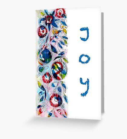 Christmas Garland Joy - Kerry Beazley Greeting Card