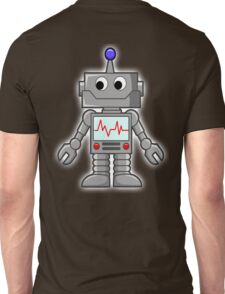 ROBOT, Cartoon, Smiley, Robotics, Toon, Unisex T-Shirt