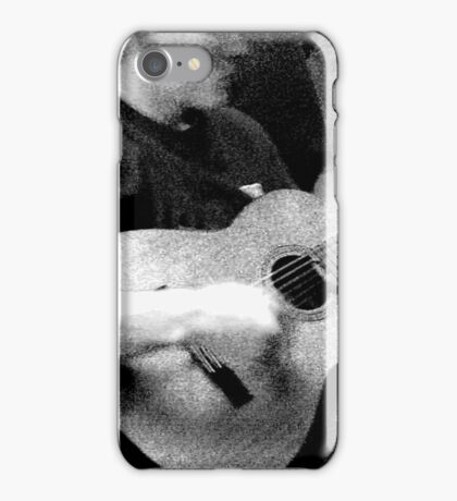 Guy with Guitar iPhone Case/Skin