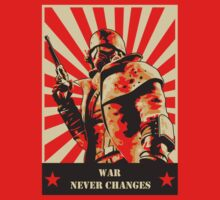 War never changes | Unisex T-Shirt