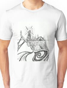 Somewhere in the Middle of The Ocean. Unisex T-Shirt
