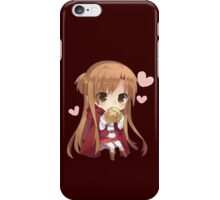 Asuna eating bread iPhone Case/Skin