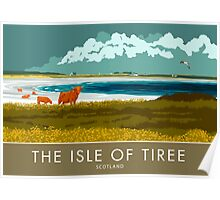The Isle of Tiree, Scotland Poster