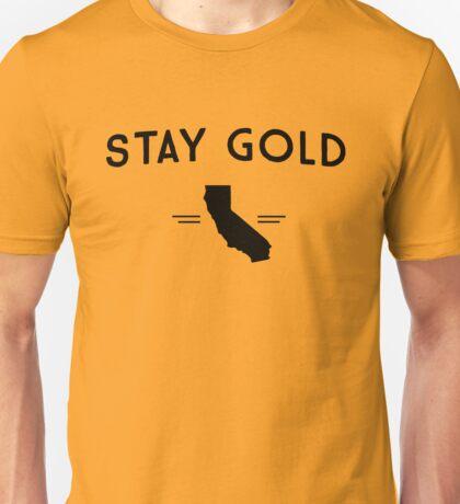 Stay Gold California Unisex T-Shirt