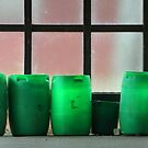 14.10.2016: Green Plastic Barrels by Petri Volanen
