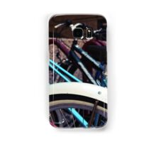 A group of bicycles Samsung Galaxy Case/Skin