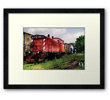 Train 8159 Framed Print