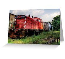 Train 8159 Greeting Card