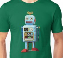Retro Tin Toy Robot Polygon Art Unisex T-Shirt