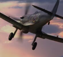Spitfire Sunset Sticker
