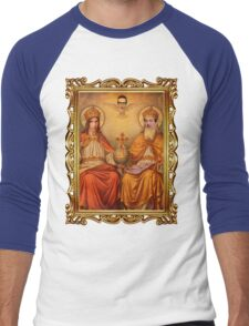 THE UNHOLY TRINITY Men's Baseball ¾ T-Shirt