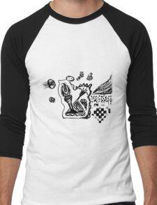 Triumph and Jellyfish Men's Baseball ¾ T-Shirt