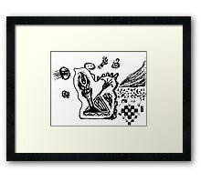 Triumph and Jellyfish Framed Print