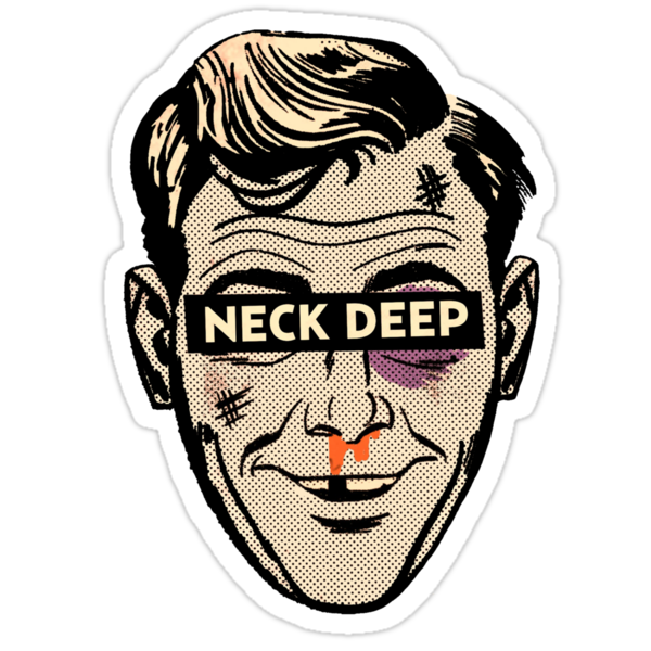 Quot Neck Deep Rain In July Quot Stickers By Sjgergolas Redbubble