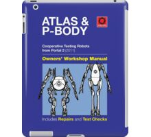 Owners' Manual - ATLAS and P-body - T-shirt iPad Case/Skin