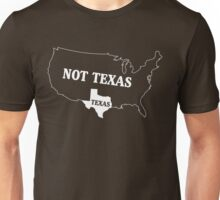 Texas or Not Texas Map of the USA Unisex T-Shirt