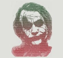 Joker with quotes by Crap Illustration