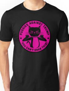 Pussies Against Trump Pink Unisex T-Shirt
