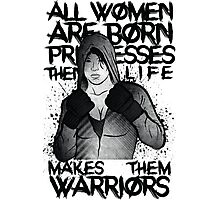 MMA female fighter Photographic Print