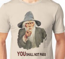 You Shall Not Pass! Unisex T-Shirt