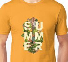 Summer Vibes Neon Palm Trees Art  Unisex T-Shirt