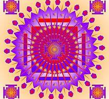 Mandala Patricia by Sarah Niebank