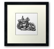 """""""Skull of a What?"""" Framed Print"""