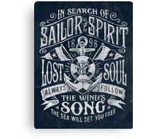Sailor Spirit Canvas Print