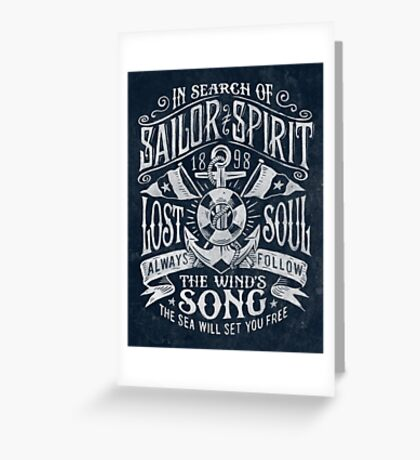Sailor Spirit Greeting Card