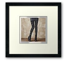 """FireFairy """"Dark Water"""" Leggings (attention! low resolution! high resolution in the link in the artist notes!!!) Framed Print"""