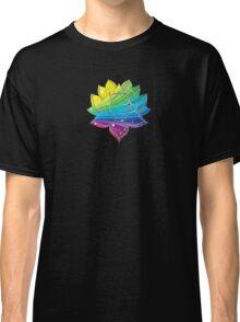 Rainbow Lotus  Classic T-Shirt