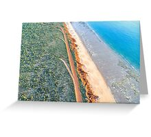 James Price Point Areal  Greeting Card
