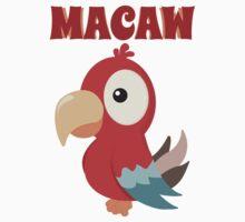 Macaw Kids Tee