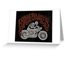 Forever Two Wheels Greeting Card