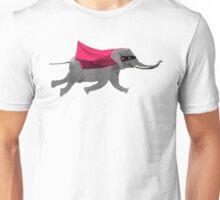 Flying Supa Elephant Unisex T-Shirt