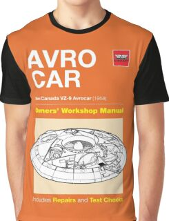 Owners' Manual - Avrocar - T-shirt Graphic T-Shirt