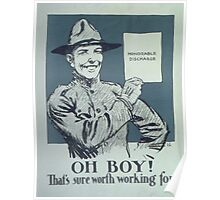 Vintage poster - Honorable Discharge Poster