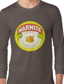 Marmite Retro Label Long Sleeve T-Shirt