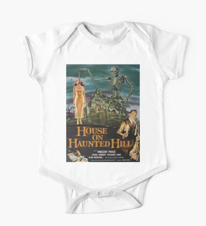 Vintage poster - House on Haunted Hill One Piece - Short Sleeve