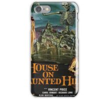 Vintage poster - House on Haunted Hill iPhone Case/Skin