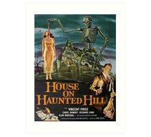Vintage poster - House on Haunted Hill Art Print