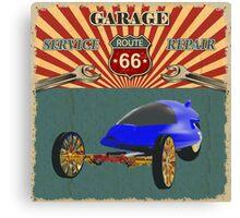 Garage Service and Repair Canvas Print