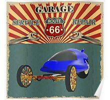 Garage Service and Repair Poster