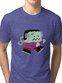 Tiny Frankestein  Tri-blend T-Shirt