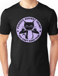 Pussies Against Trump Purple Unisex T-Shirt