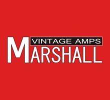Marshall Vintage Amps Kids Tee
