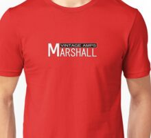 Marshall Vintage Amps Unisex T-Shirt